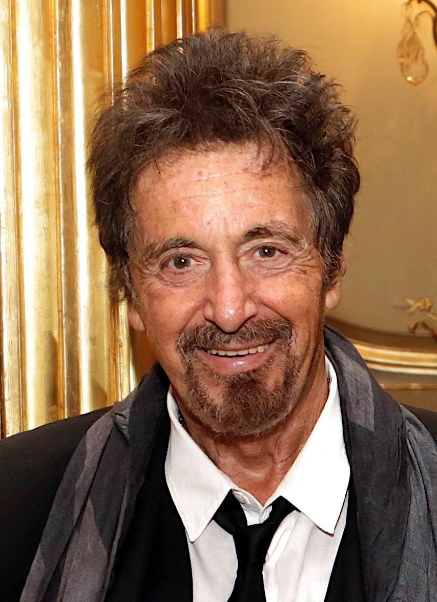 Der 81 Jahre alte 170 cm große Al Pacino im 2021 Foto