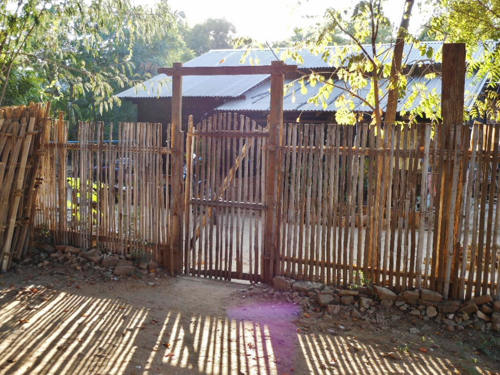 File Bamboo Fence And Gate 8407445679 Jpg