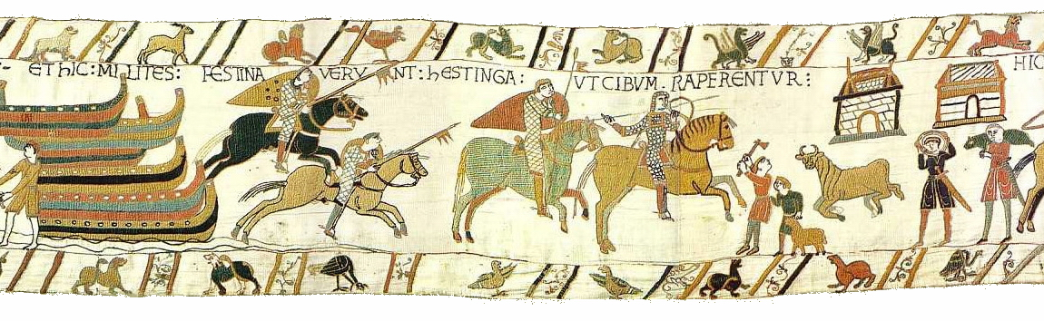 bayeux tapestry scene 44