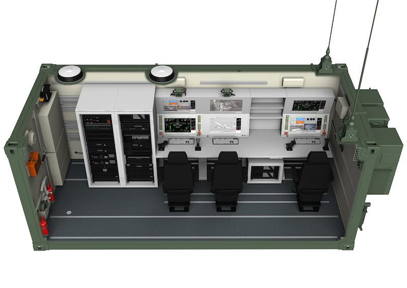 Ground control station for the Bayraktar TB2.