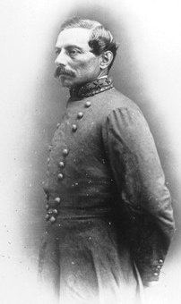 P.G.T. Beauregard. Mid 19th century photo in m...