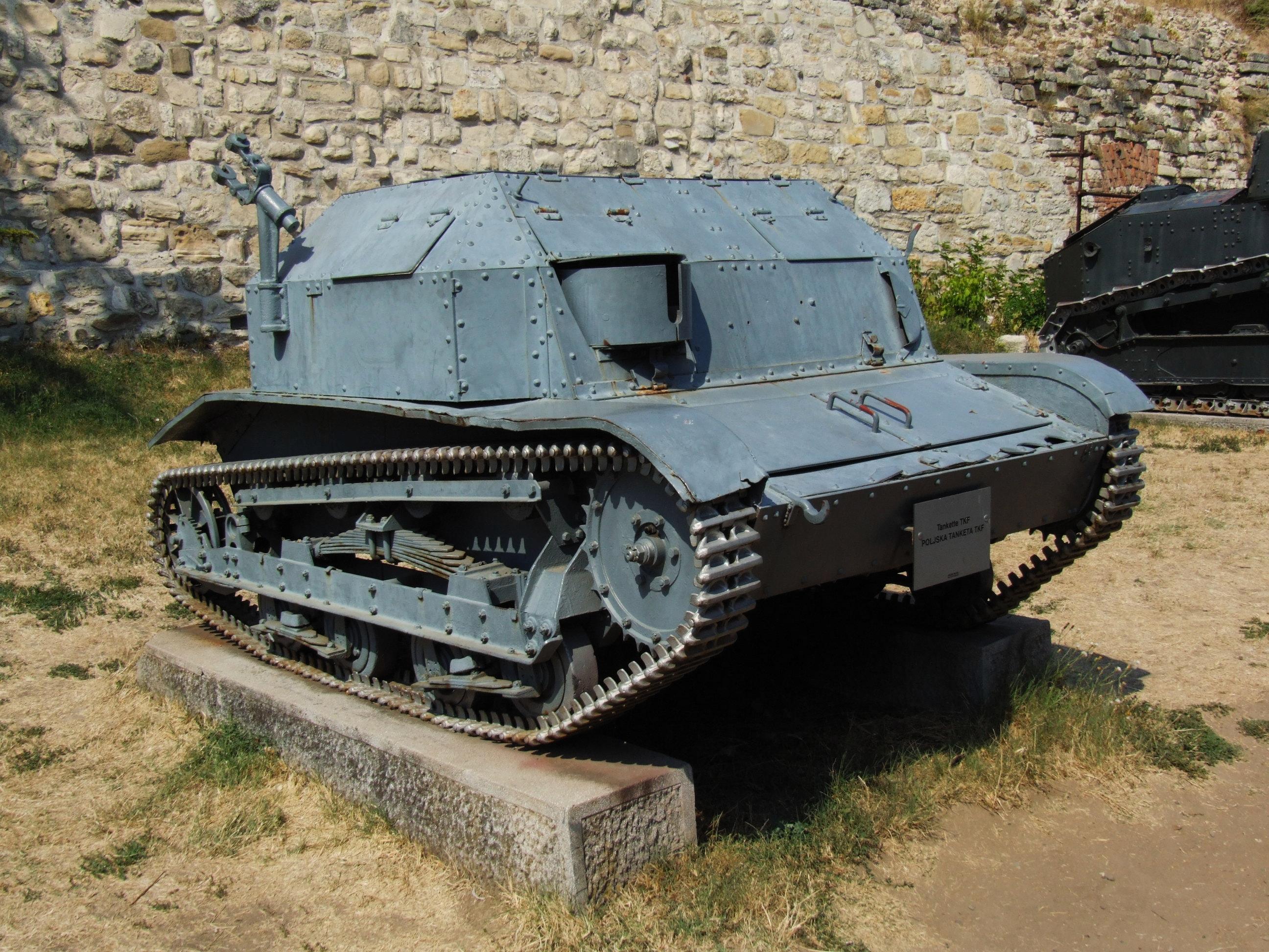 Belgrade_Military_Museum_-_TKF_tankette.