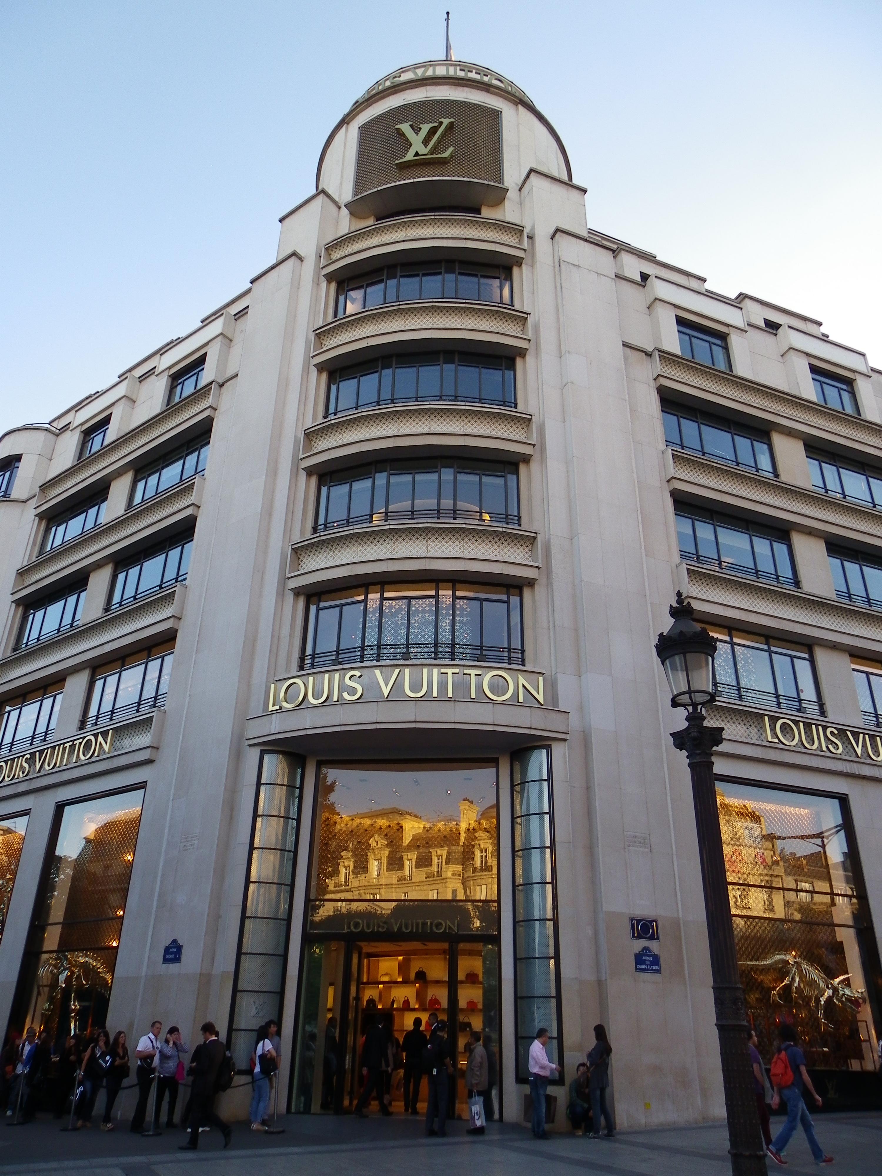 Magasin Louis Vuitton Paris Champs Elysees