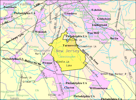 Washington Nj Map