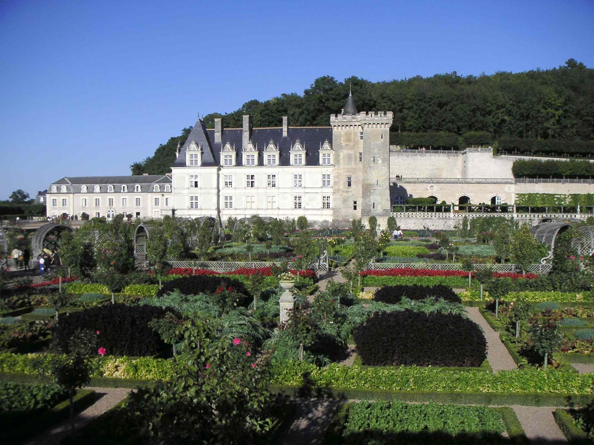 File ch teau de villandry vue des jardins jpg wikimedia for Jardin villandry