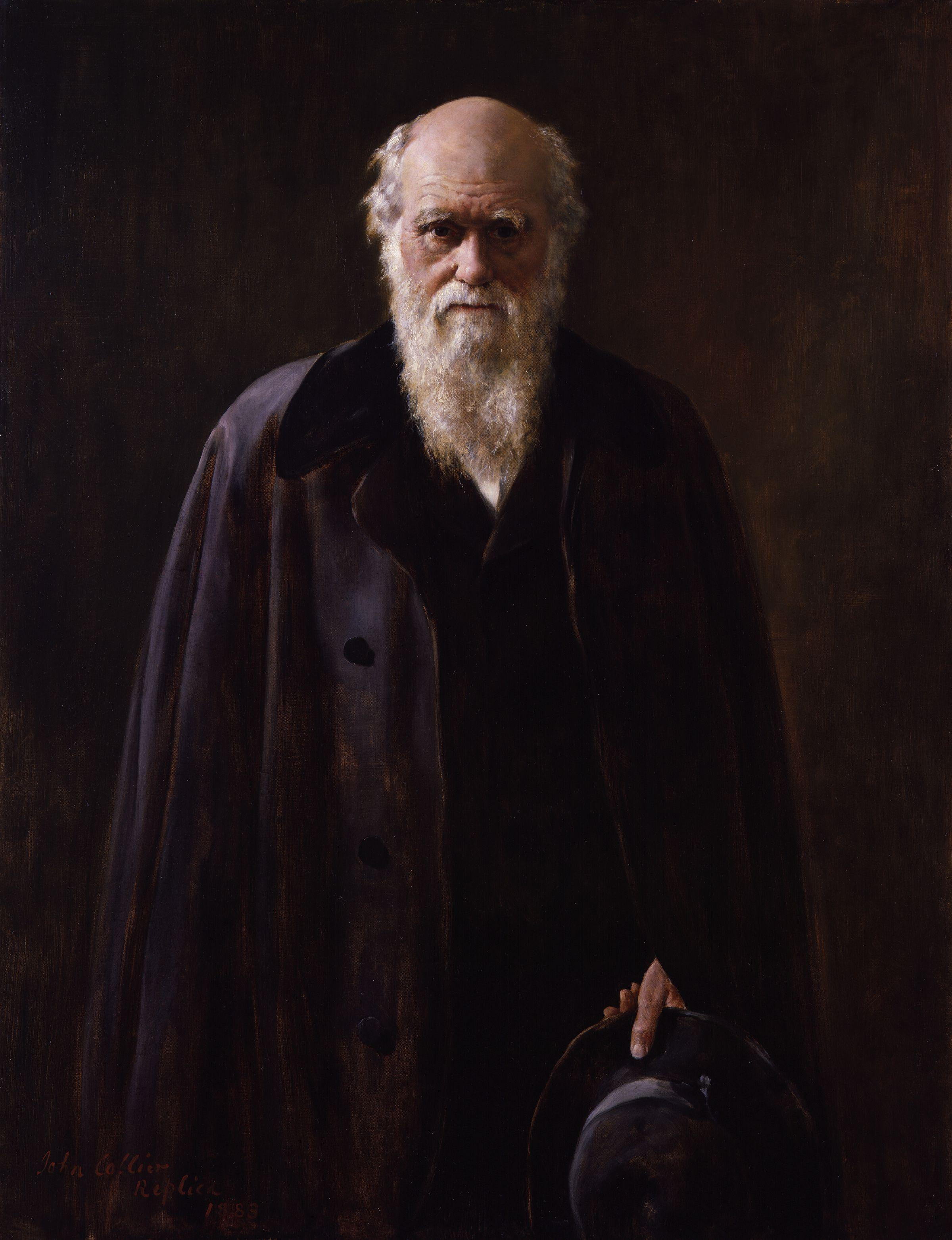 Charles Darwin, From Wikimedia Commons