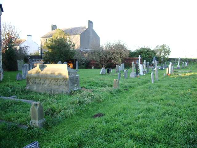 File:Christ Church, Glasson, Graveyard - geograph.org.uk - 615340.jpg