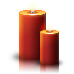 File:Christmas candle icon.png