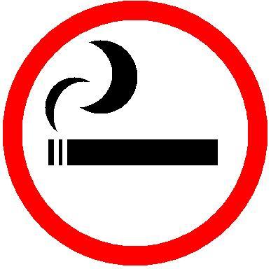 No fumar cigarros desnudos