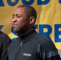 Darren Campbell in 2009.