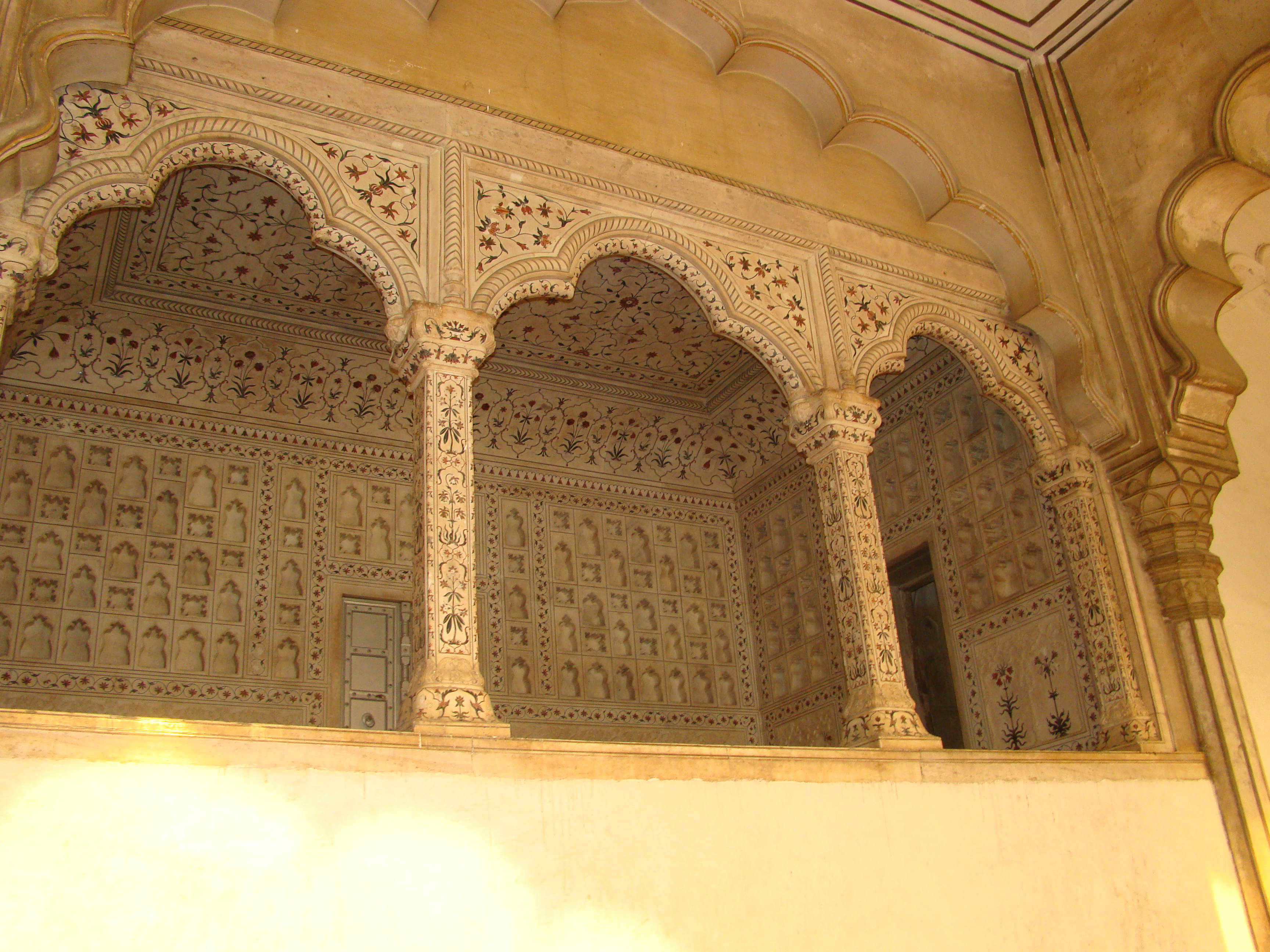 File diwan i aam at agra fort jpg wikimedia commons for Diwan i aam images
