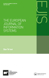 <i>European Journal of Information Systems</i> journal