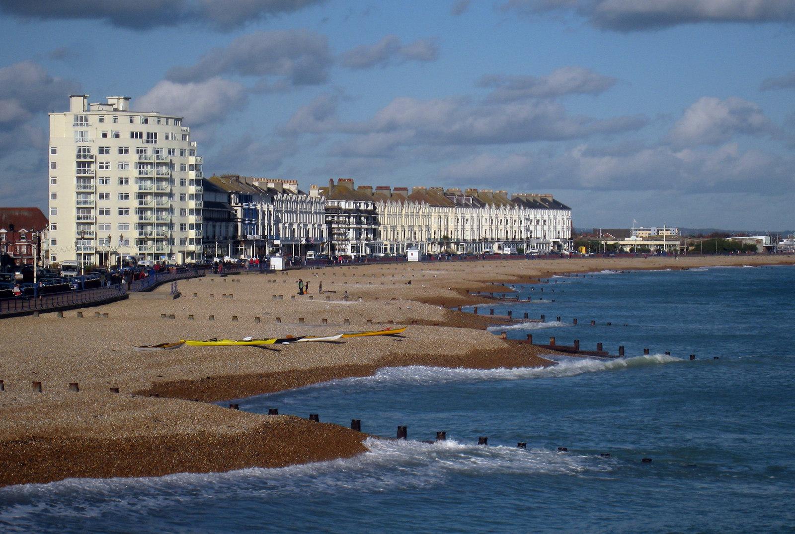 File:Eastbourne Beach - geograph.org.uk - 1582936.jpg ...