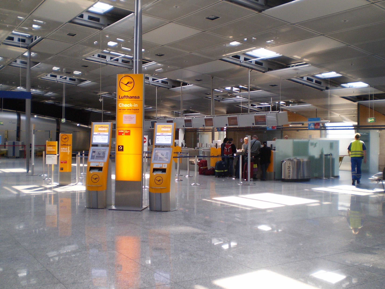 Lufthansa Check In Frankfurt Flughafen