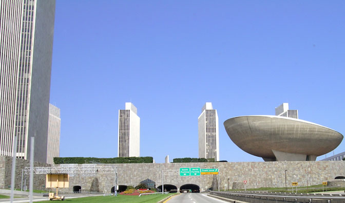 File:Empire State Plaza from street.jpg