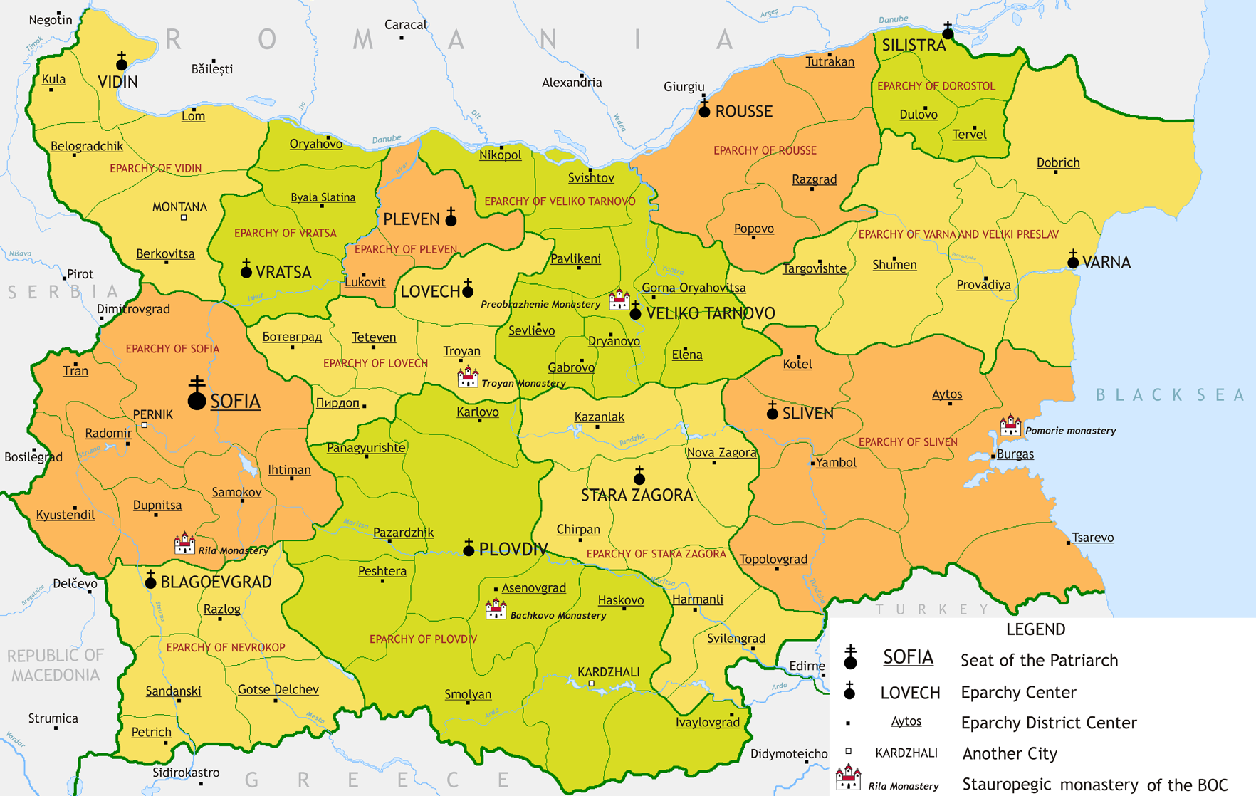 landkarte bulgarien Atlas of Bulgaria   Wikimedia Commons landkarte bulgarien