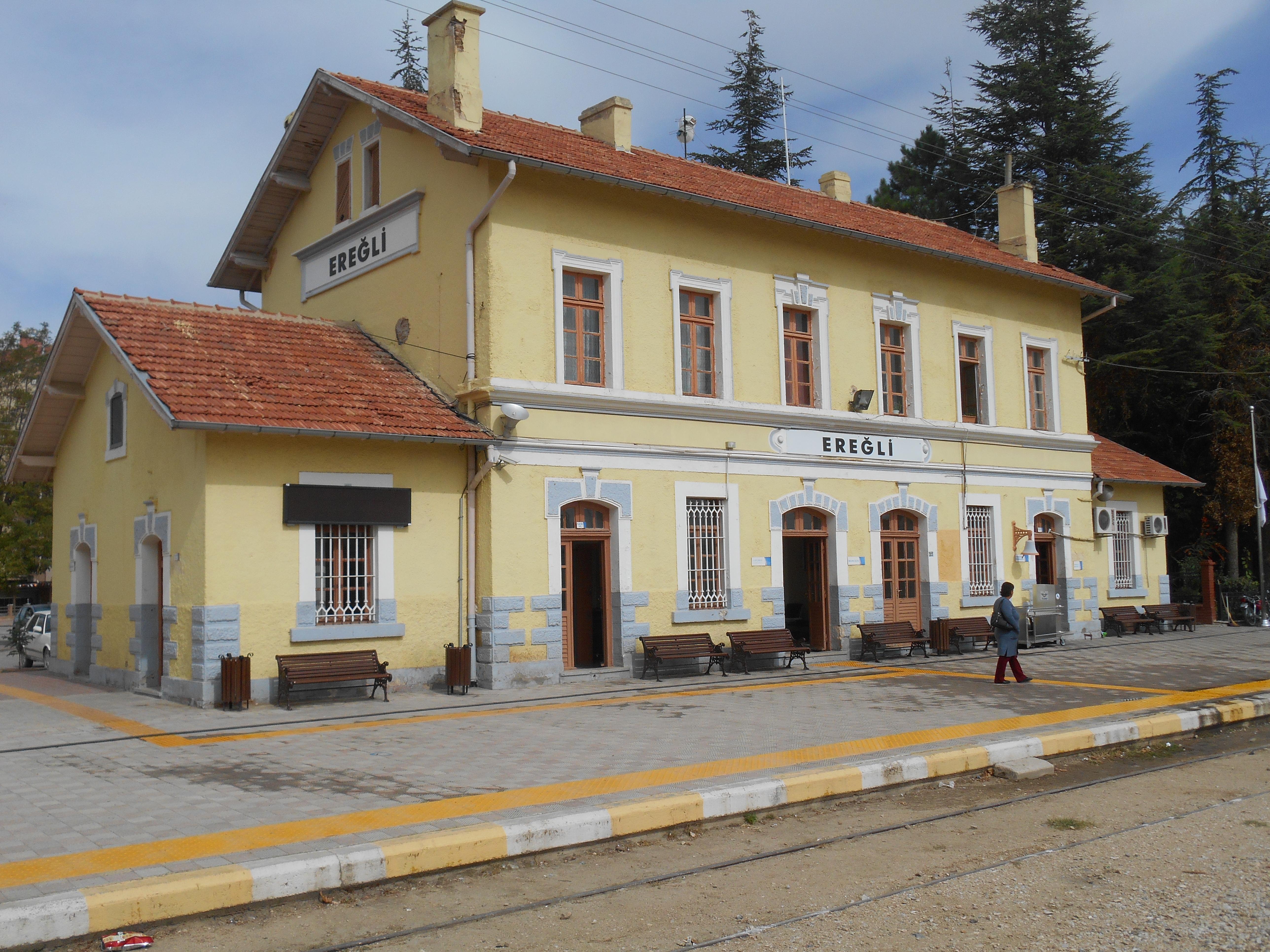 eregli railway station wikipedia