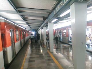 Metro Portales Mexico City metro station