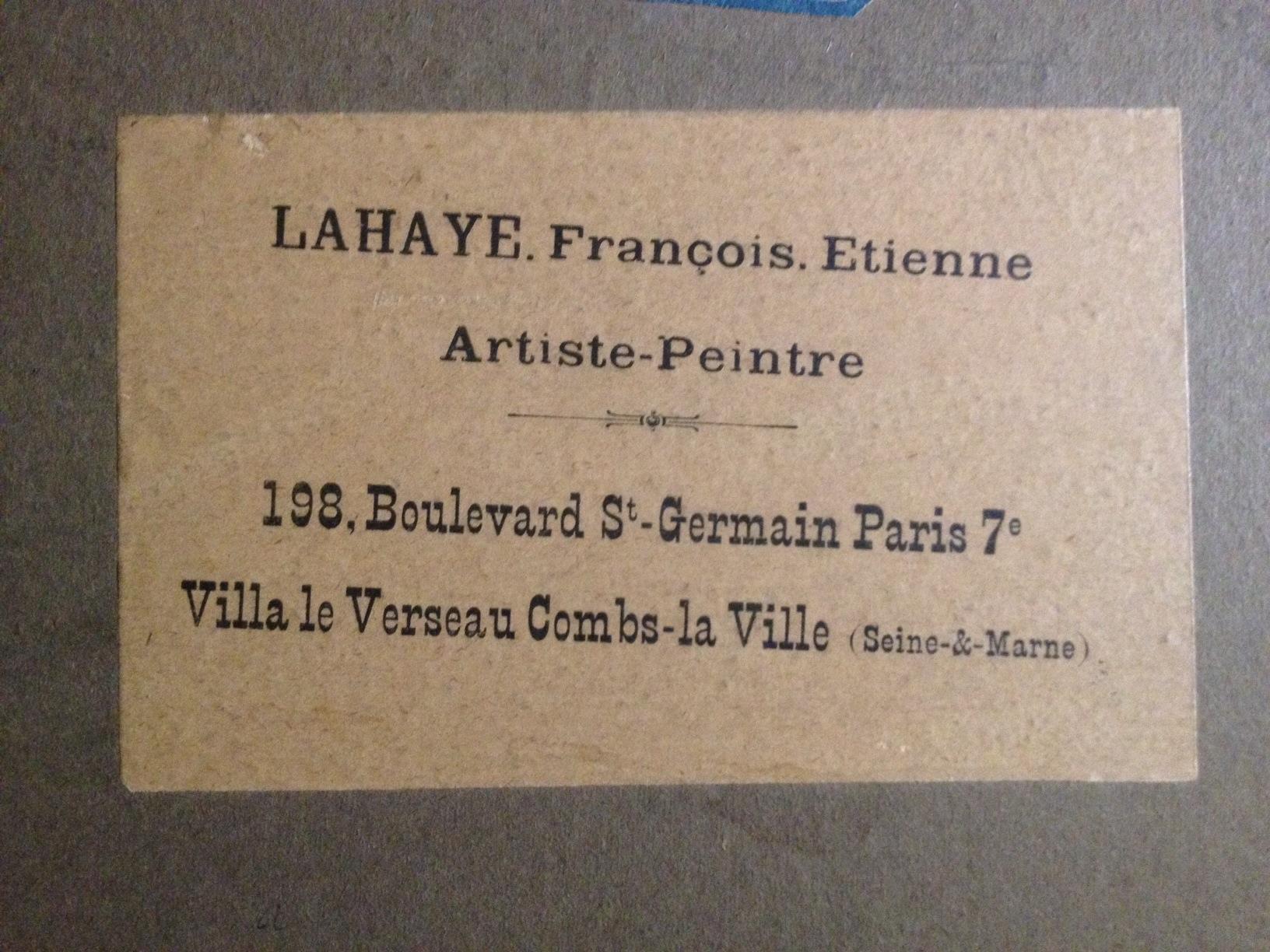 François-Étienne Lahaye