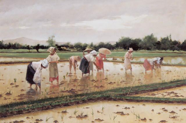 https://upload.wikimedia.org/wikipedia/commons/3/3e/Fabian_de_la_Rosa%2C_Women_working_in_a_rice_field.jpg