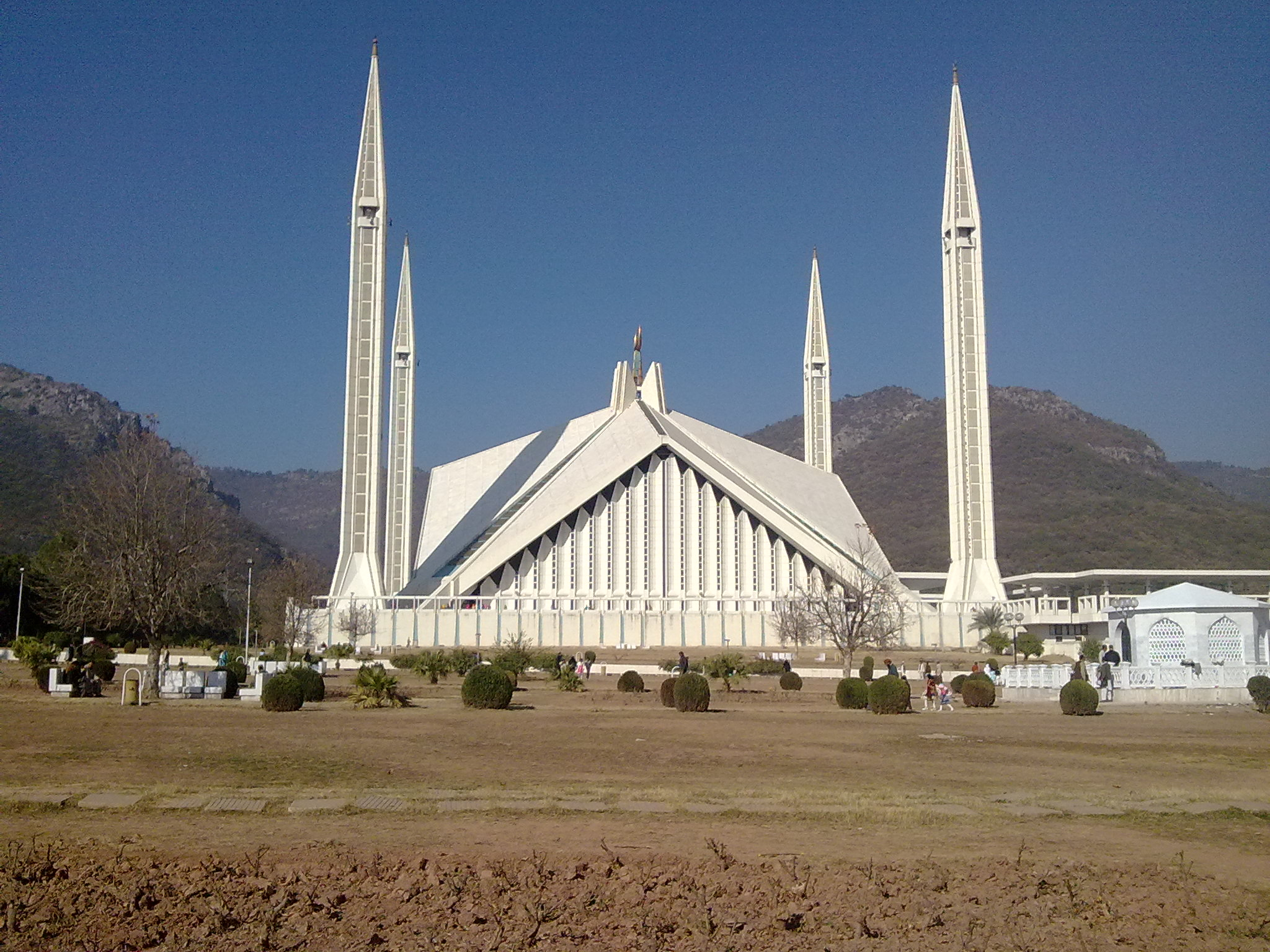 faisal mosque The faisal mosque in islamabad is the largest mosque in pakistan and south  asia and the sixth largest mosque in the world it was the largest.