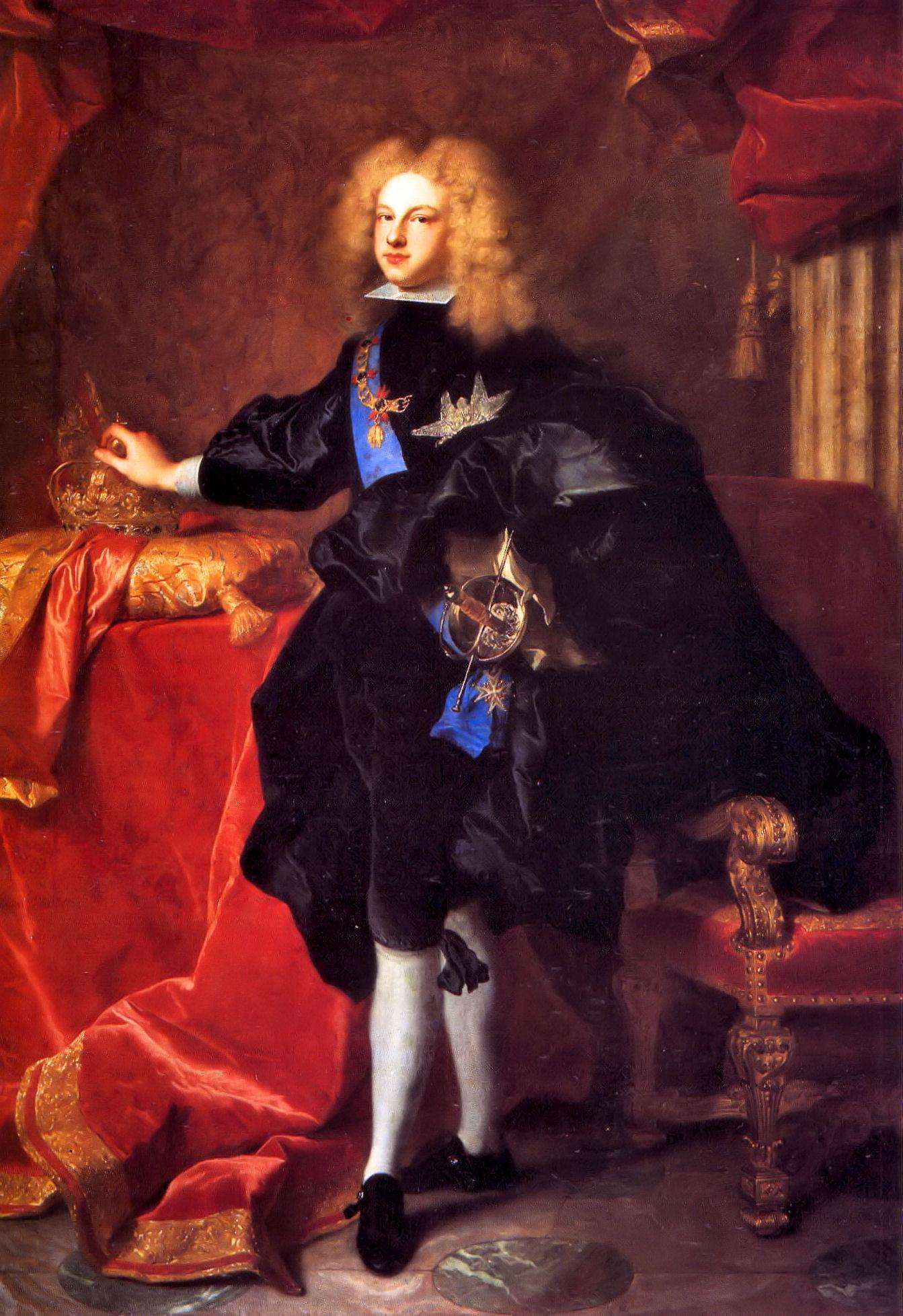 Felipe V Rey de Espa±a