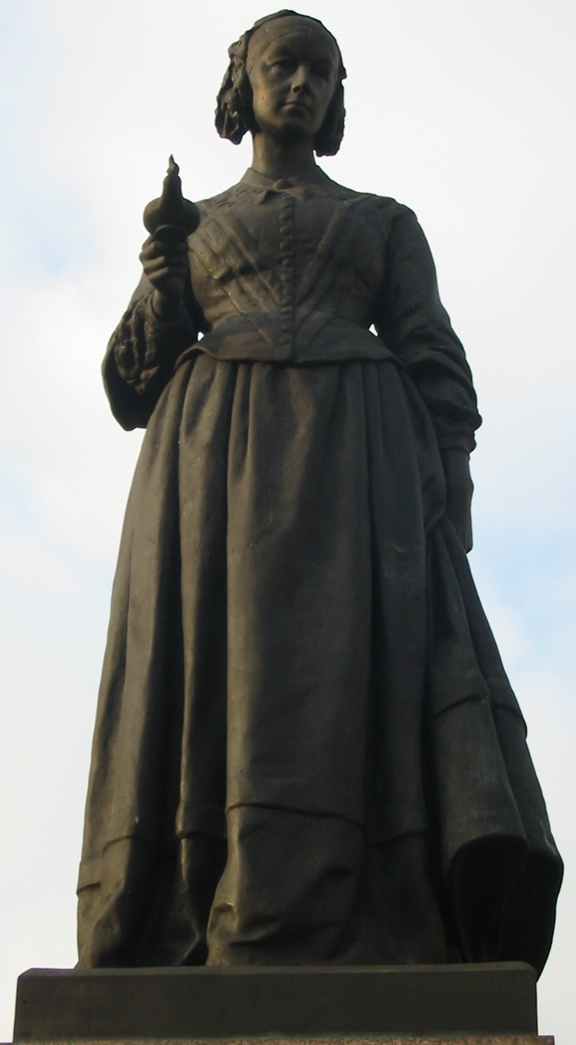 Florence Nightengale monument in London, England