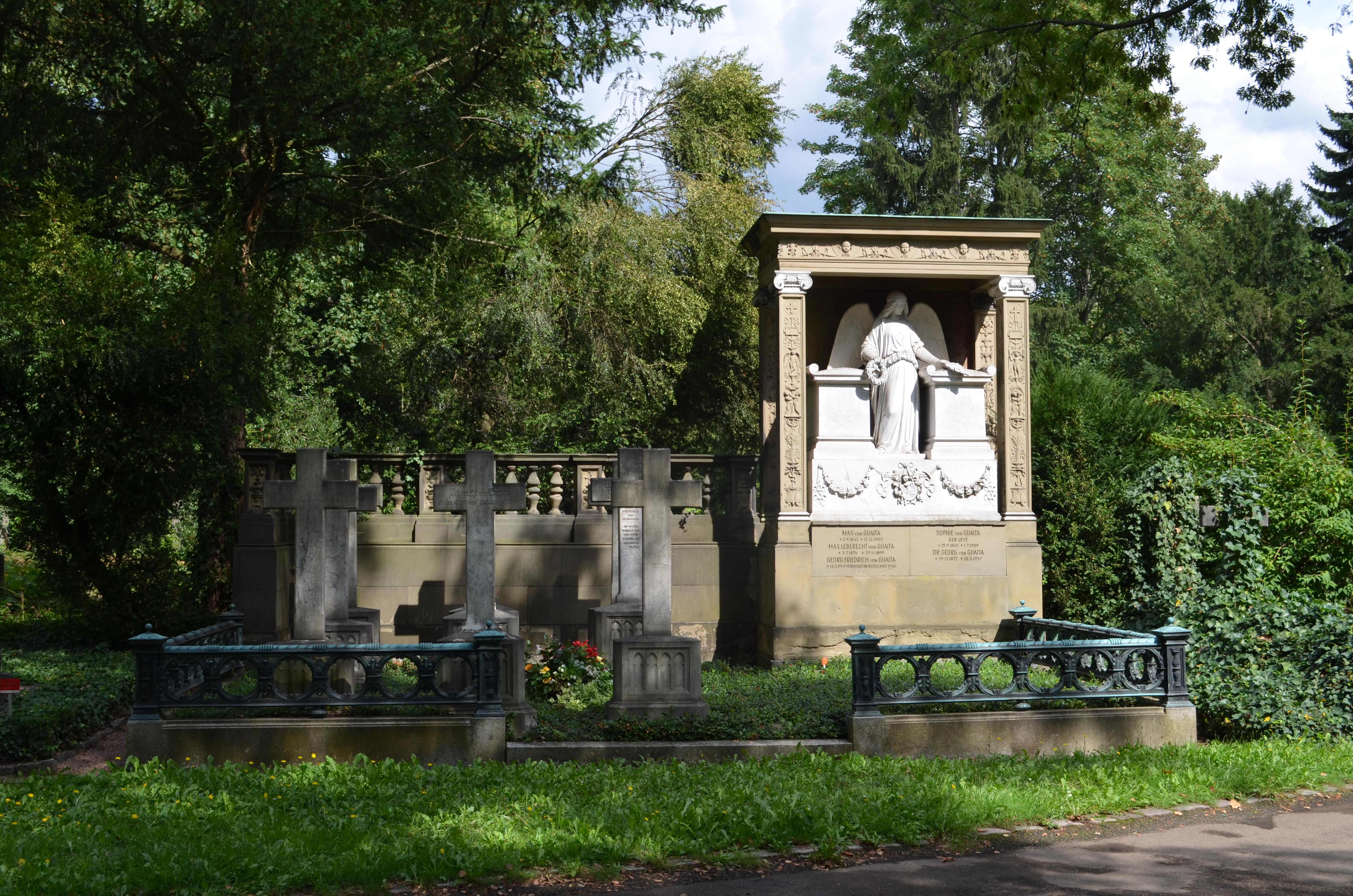 Dateifrankfurt Hauptfriedhof Grab C 8 9 Von Guaitajpg Wikipedia