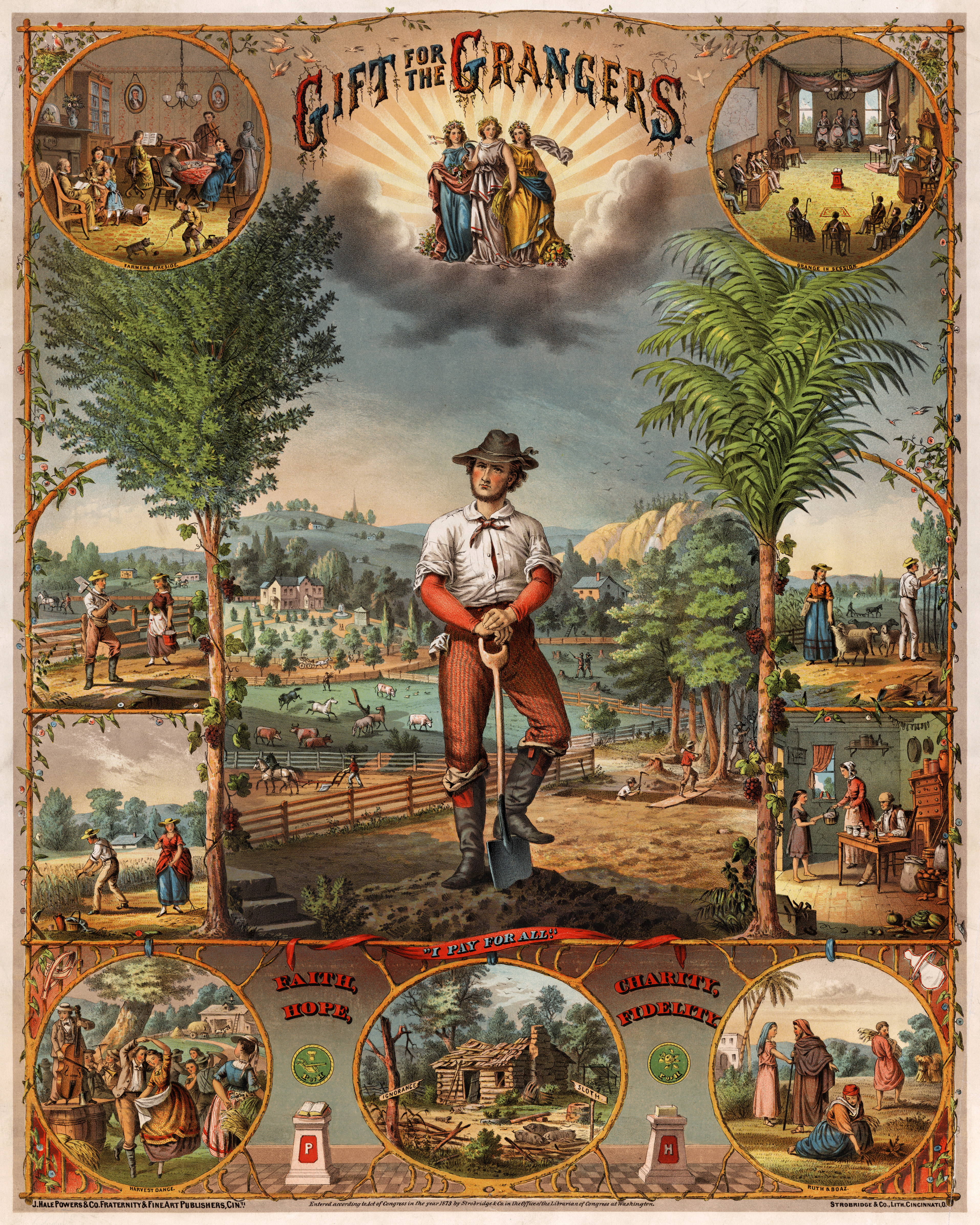 a history of agriculture in the united states