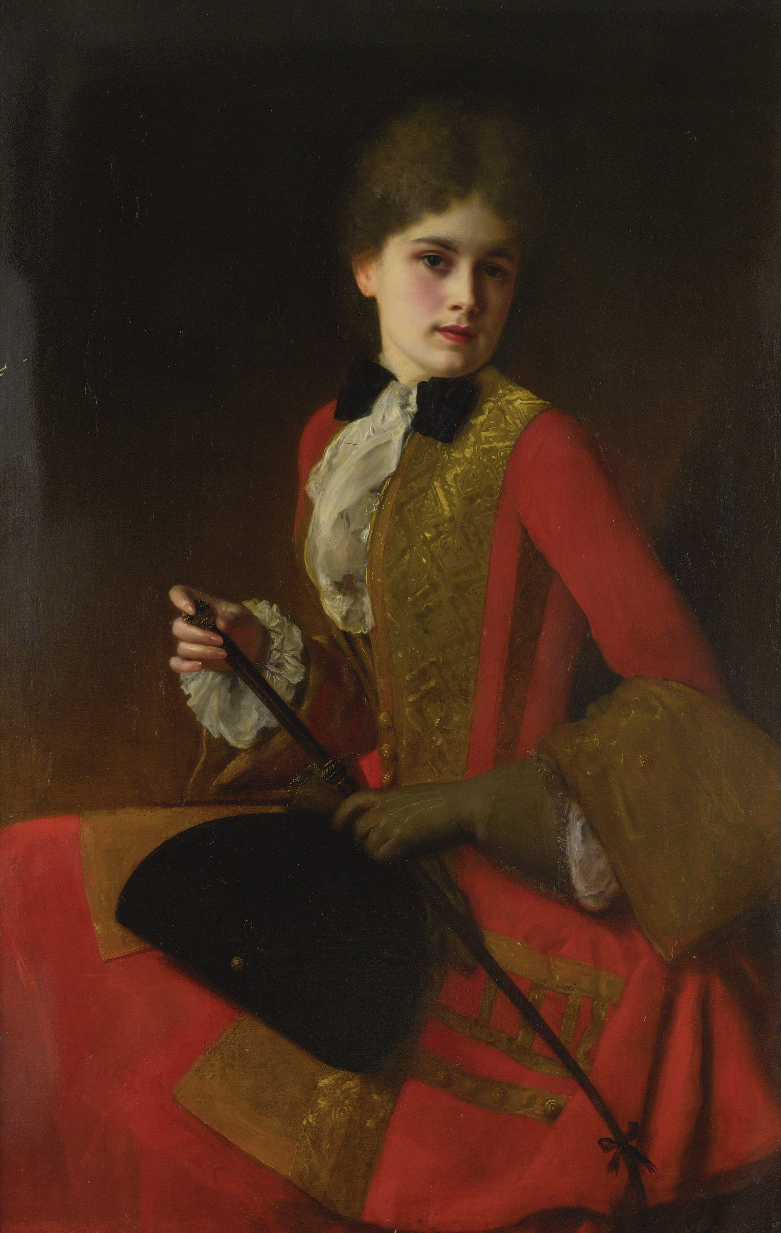 File:Gustave Jean Jacquet Girl in a riding habit.jpg - Wikimedia ...