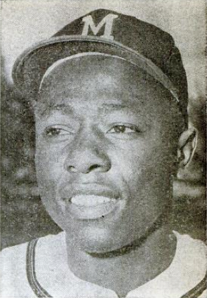 English: Milwaukee Braves outfielder and Hall ...