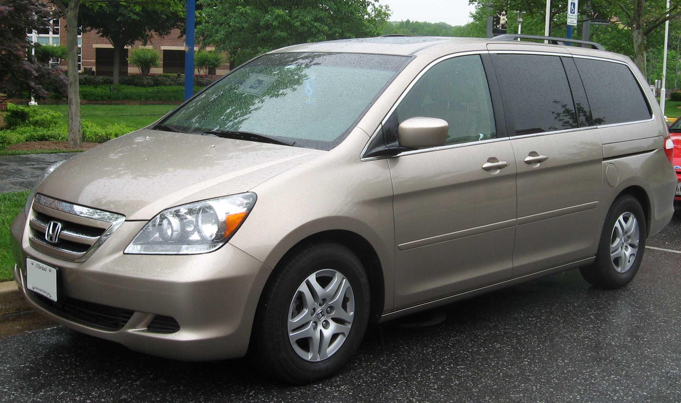 Honda Odyssey Touring Emblem