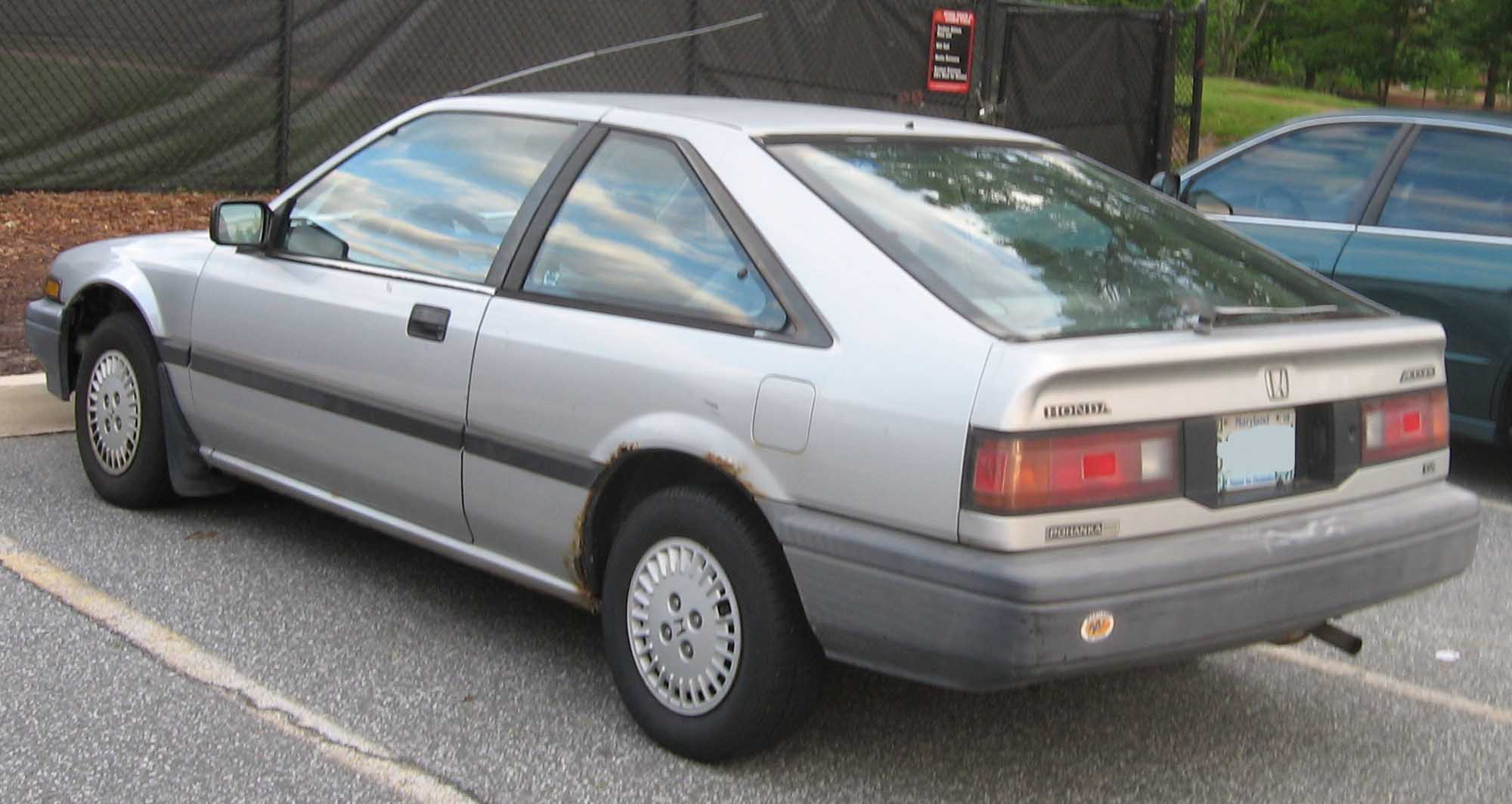 File Honda Accord Hatch Rear Jpg Wikimedia Commons