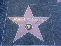 Joanne Woodwards Stern auf dem Walk of Fame