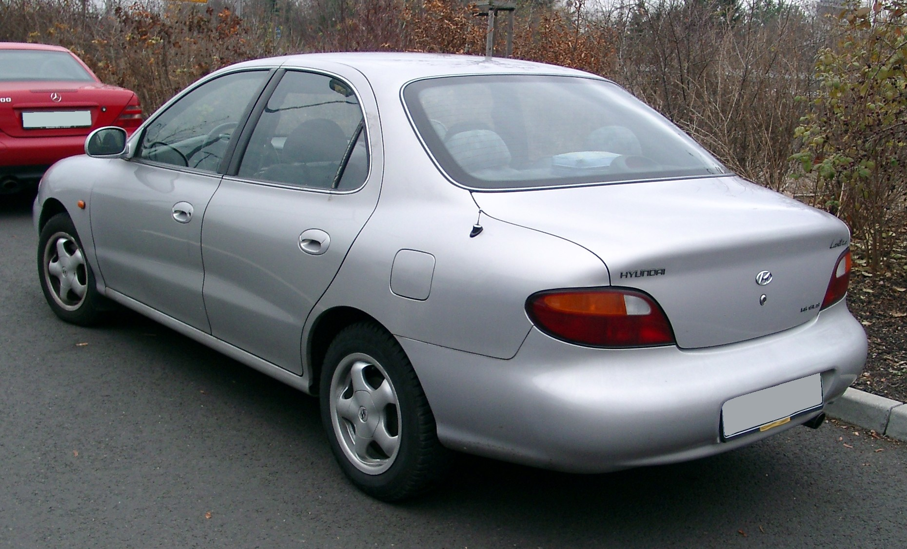 File Hyundai Lantra Rear 20071119 Jpg Wikimedia Commons
