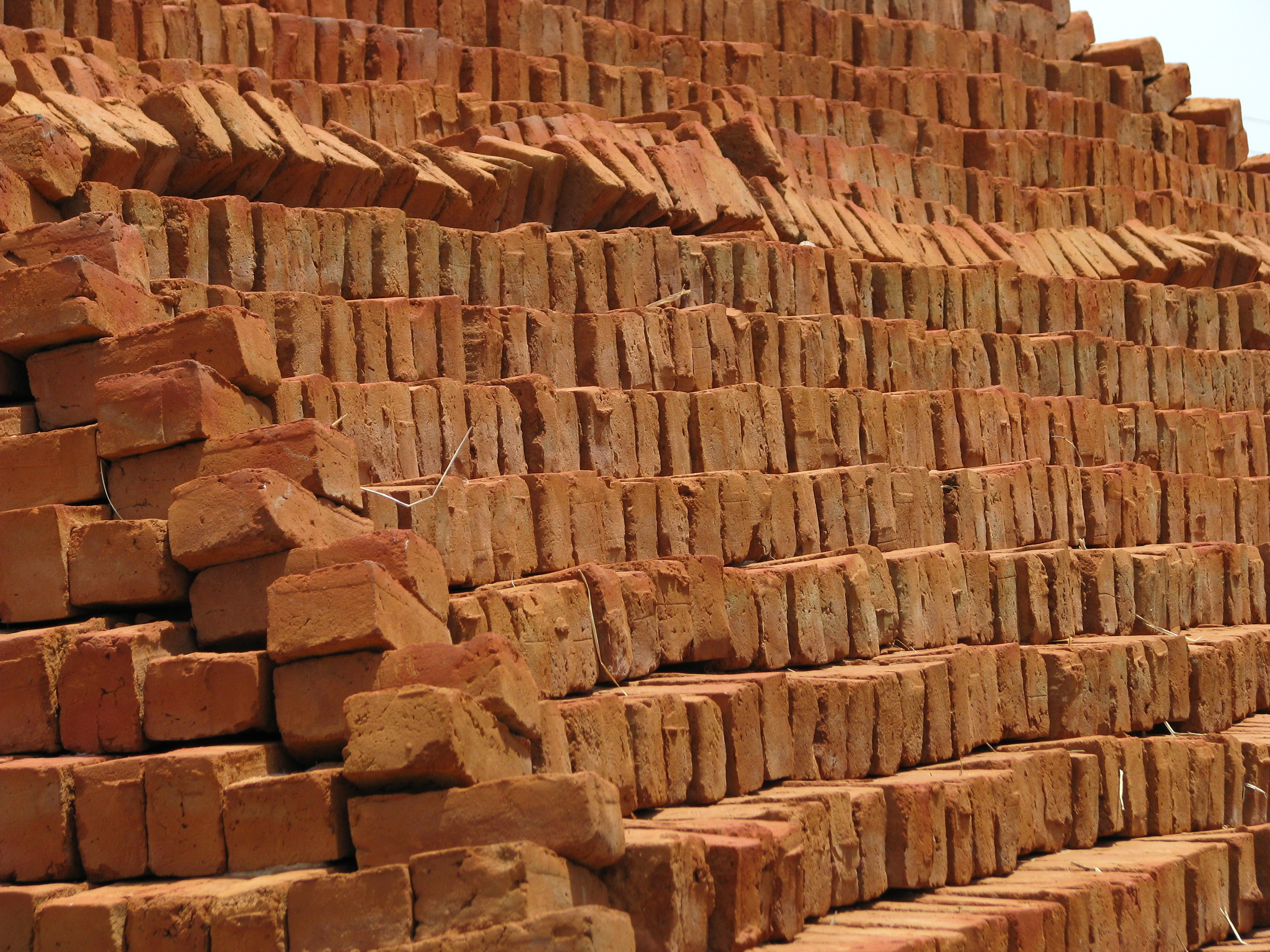 File india sights culture rural brick making kiln 03 for What to do with bricks