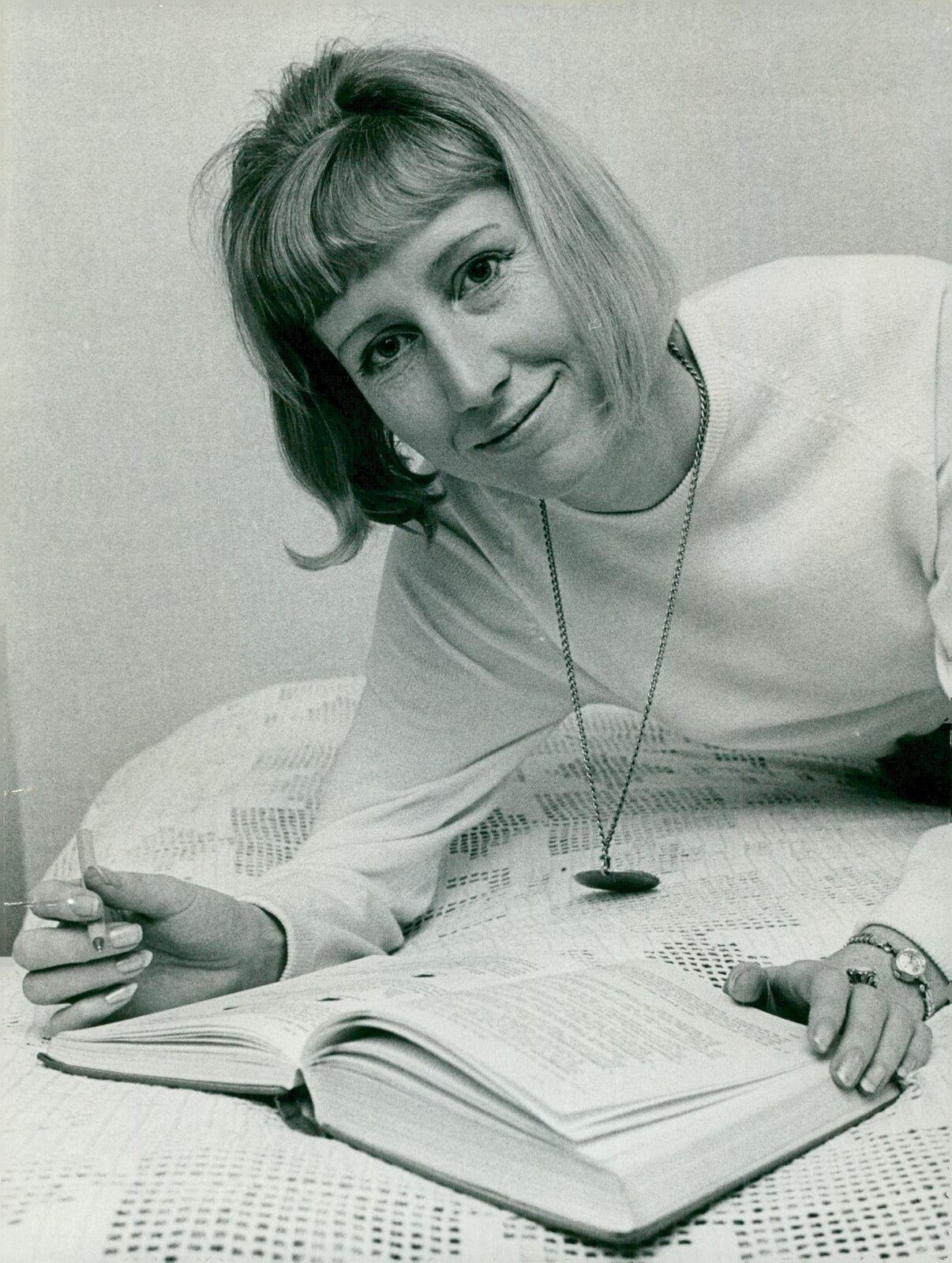 Ing-Marie Eriksson ved gennembruddet 1965.