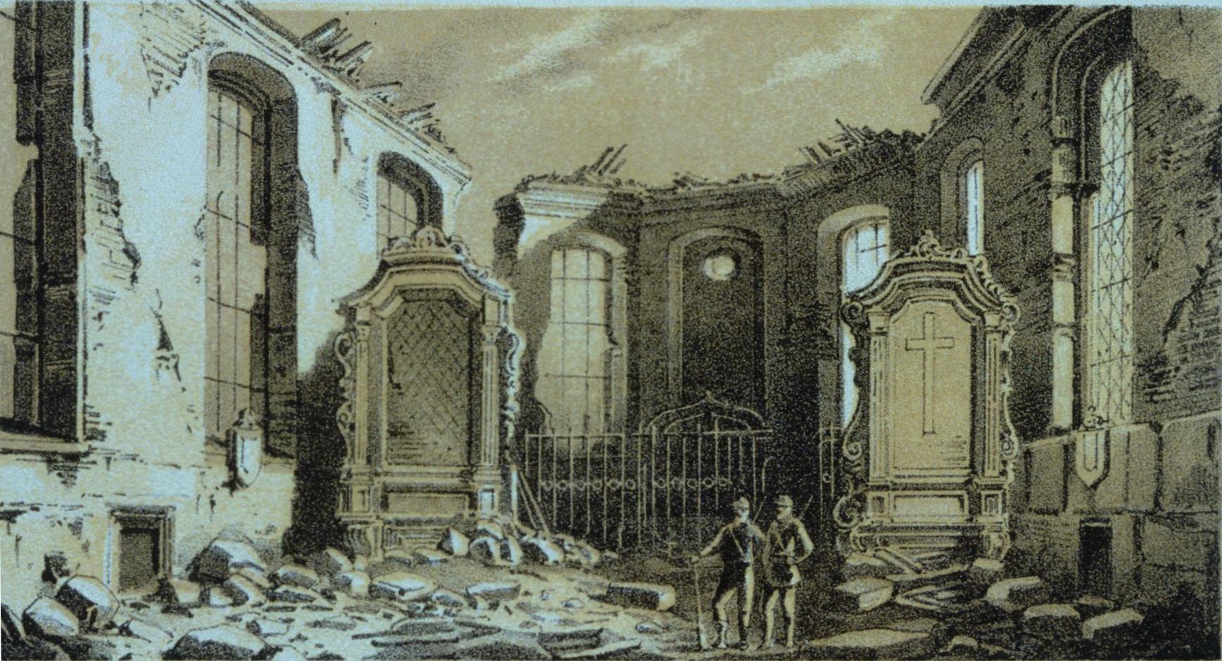 File int rieur glise citadelle de strasbourg 1870 jpg for Interieur eglise