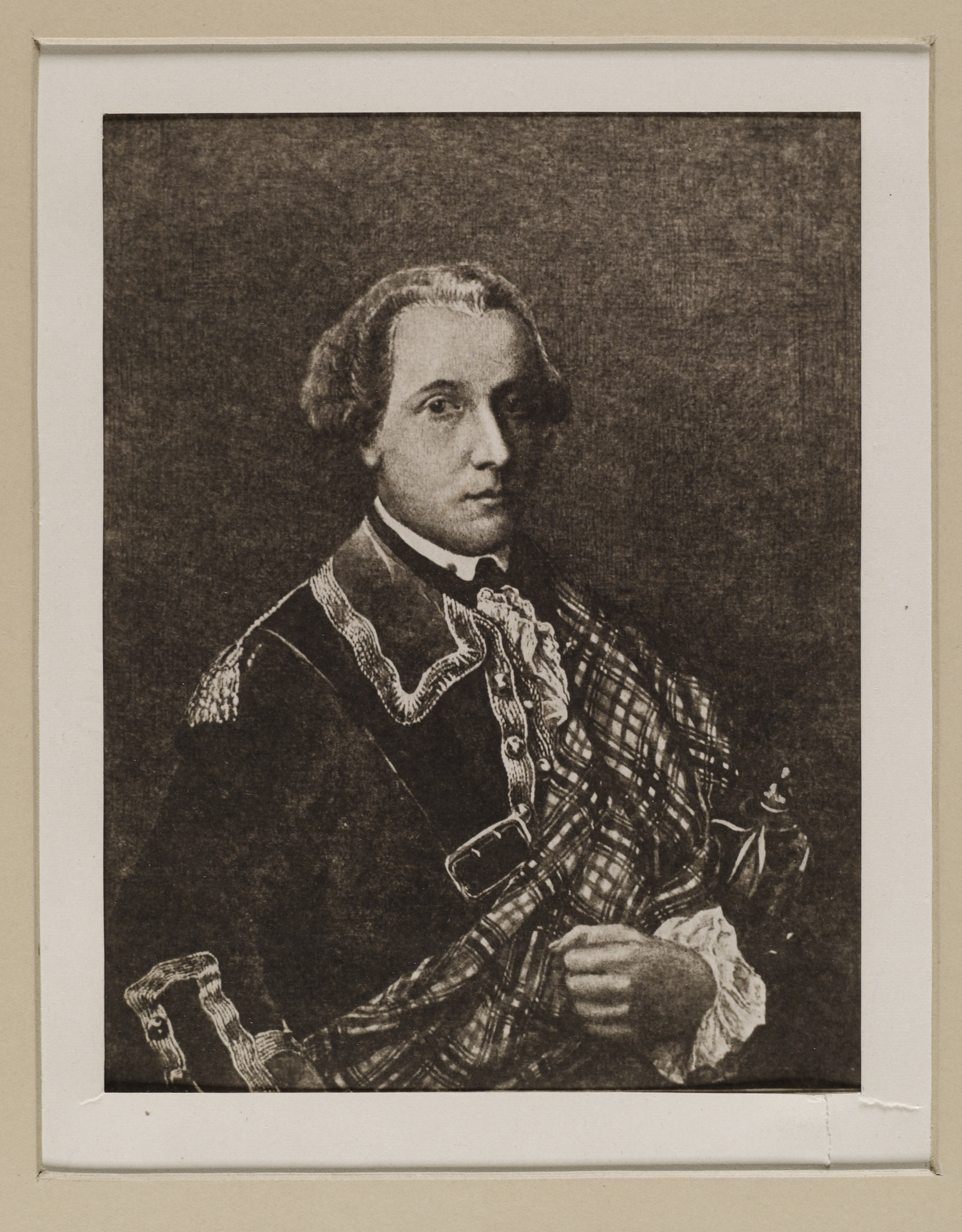 File:Jacobite broadside - Portrait of Donald CAMERON, the Gentle Lochiel ( 1695-