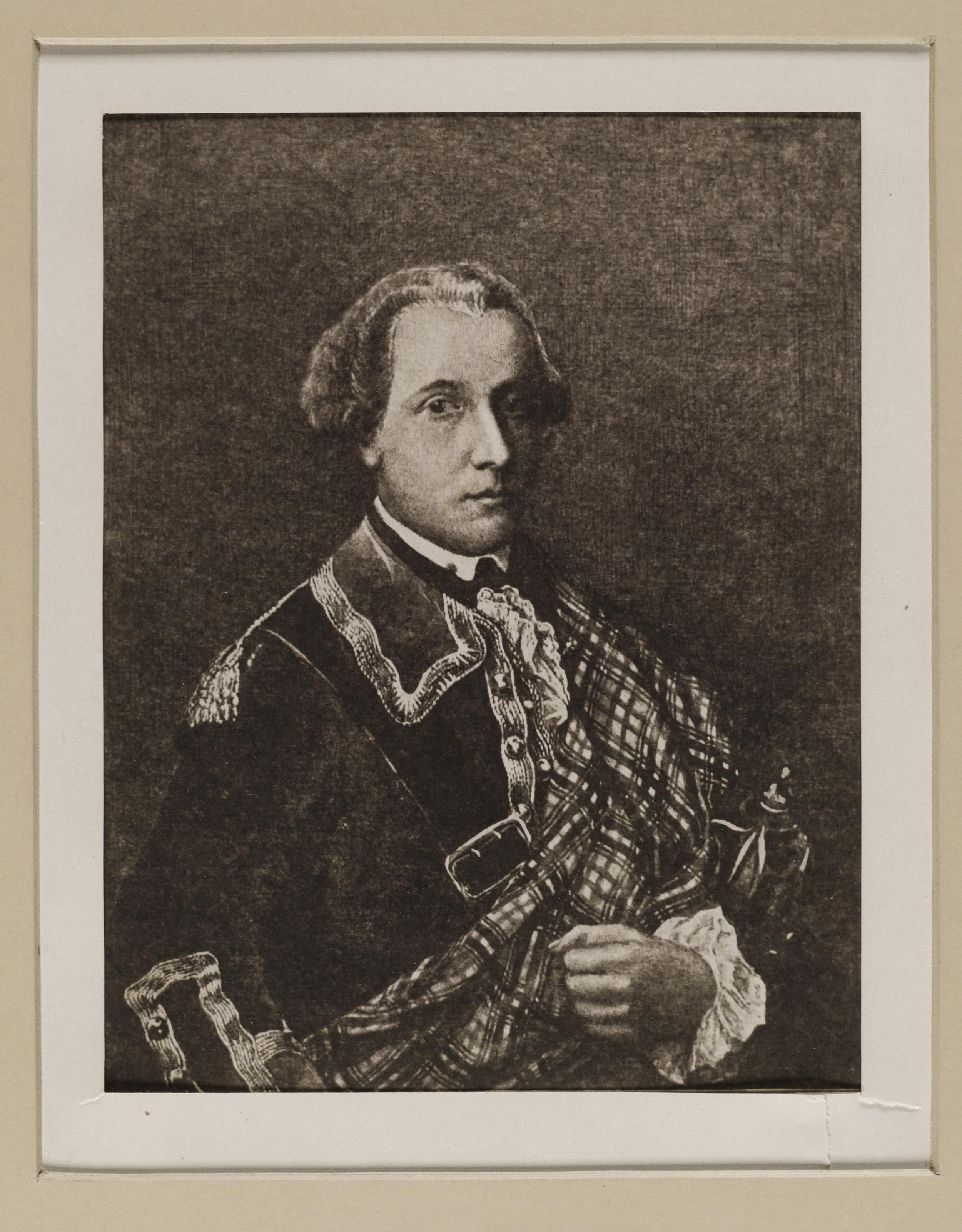 File:Jacobite broadside - Portrait of Donald CAMERON, the Gentle Lochiel ( 1695-