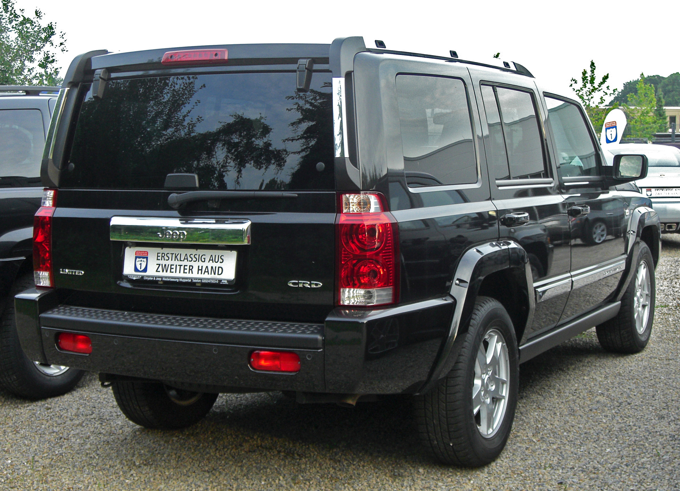Used Jeep Commanders For Sale File:Jeep Commander 3.0 CRD rear.jpg - Wikimedia Commons