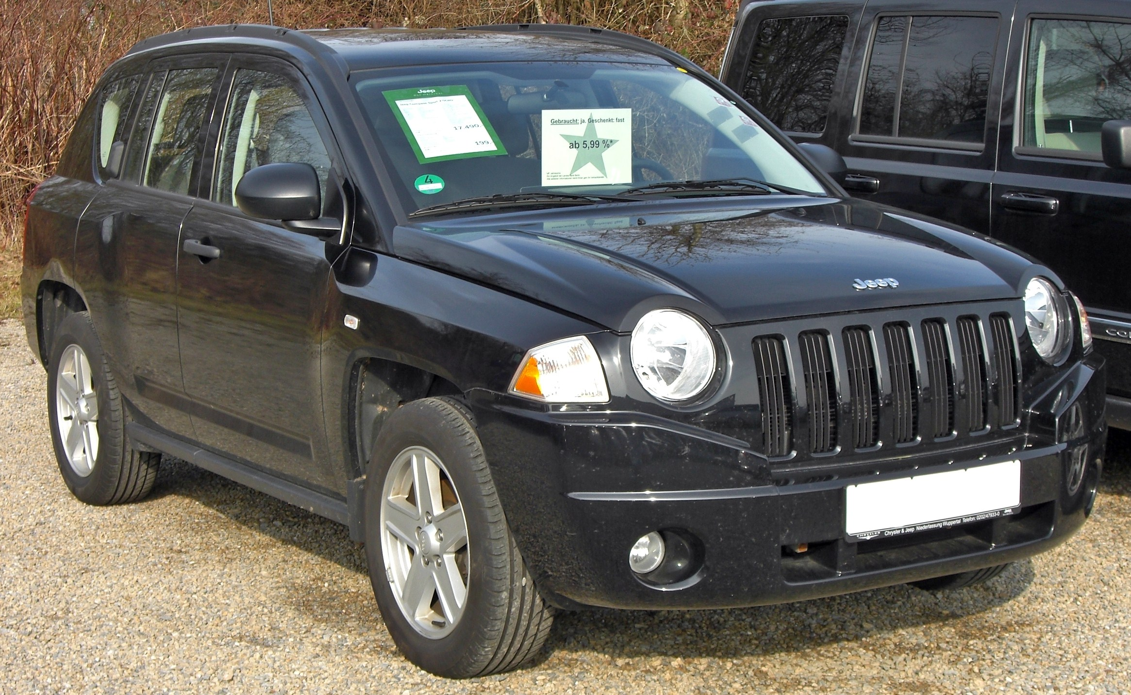 file jeep compass 20090301 wikimedia commons. Black Bedroom Furniture Sets. Home Design Ideas