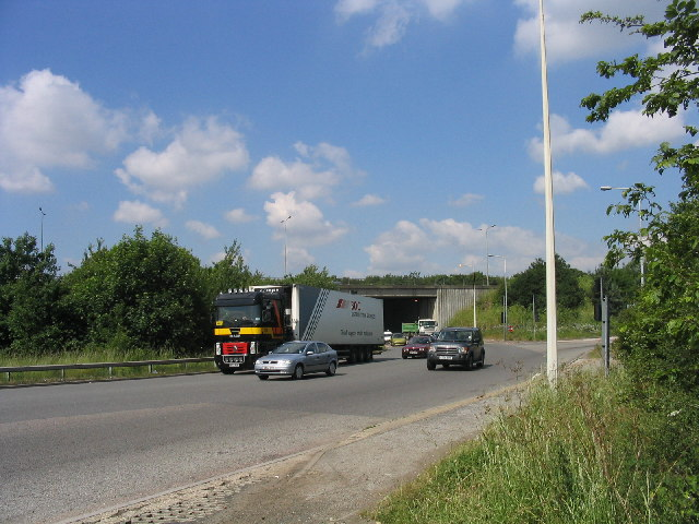 File:Junction 29, M25 Motorway, Essex - geograph.org.uk - 19544.jpg