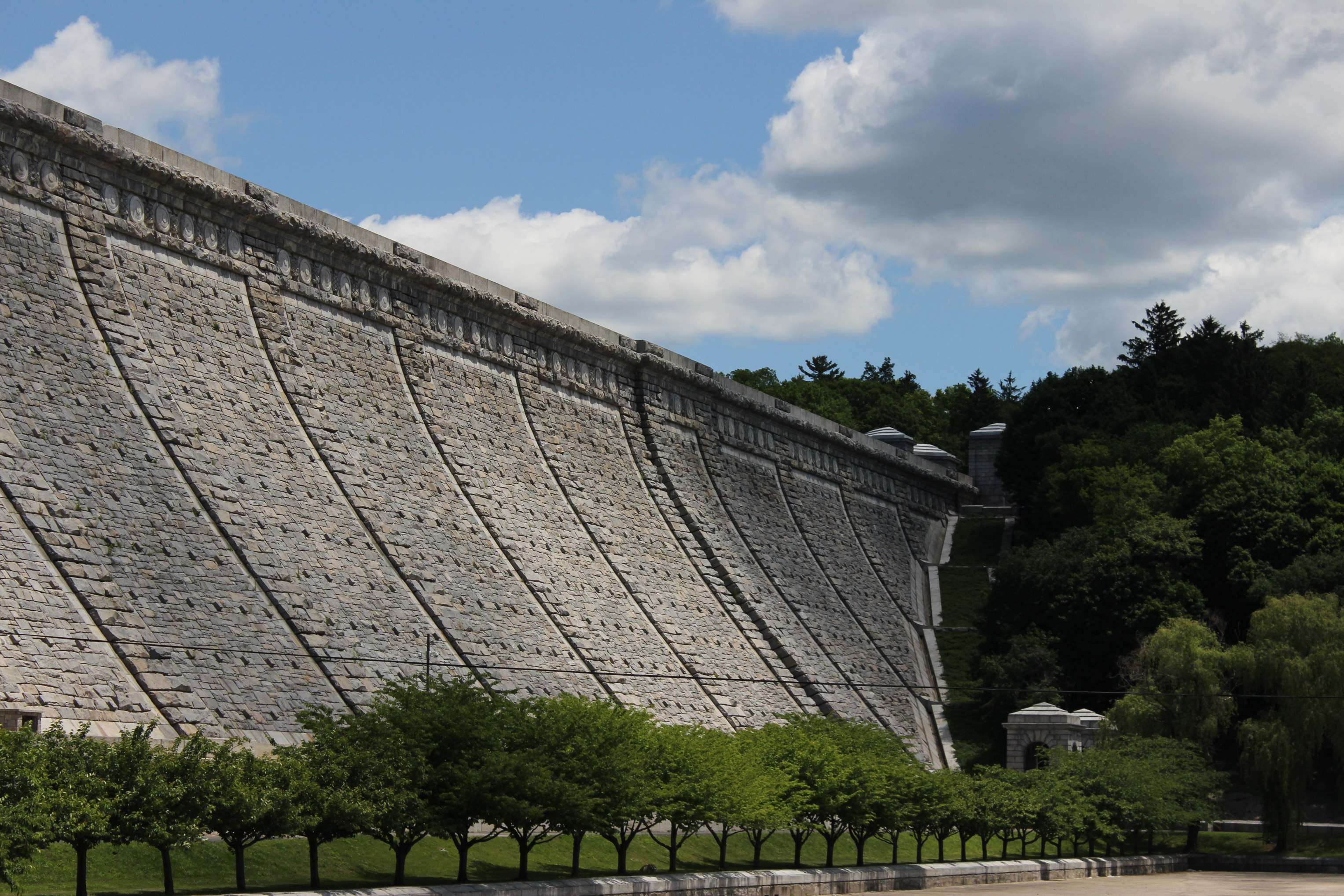 Kensico Dam in Westchester County, NY. Source: Wikimedia Foundation