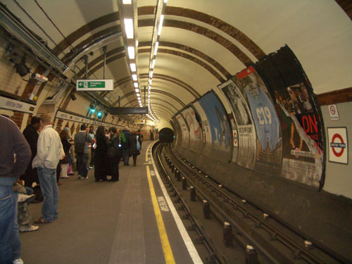 Kentish Town underground station, NW5 - geograph.org.uk - 831375