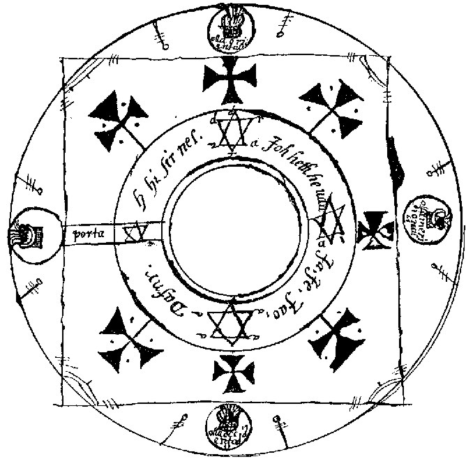 File:Key of Solomon magic circle jpg - Wikimedia Commons