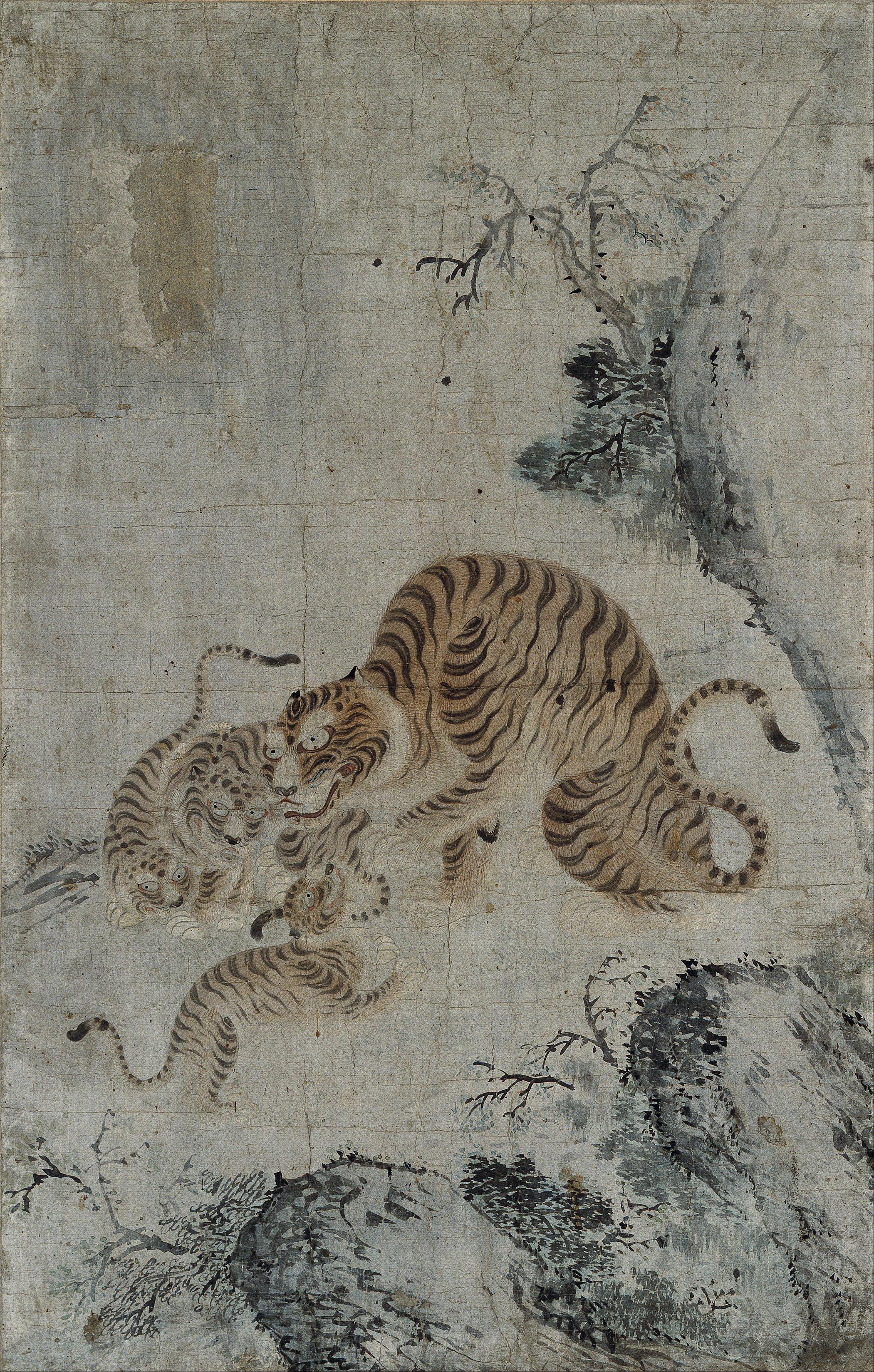 filekorea family of tigers google art projectjpg