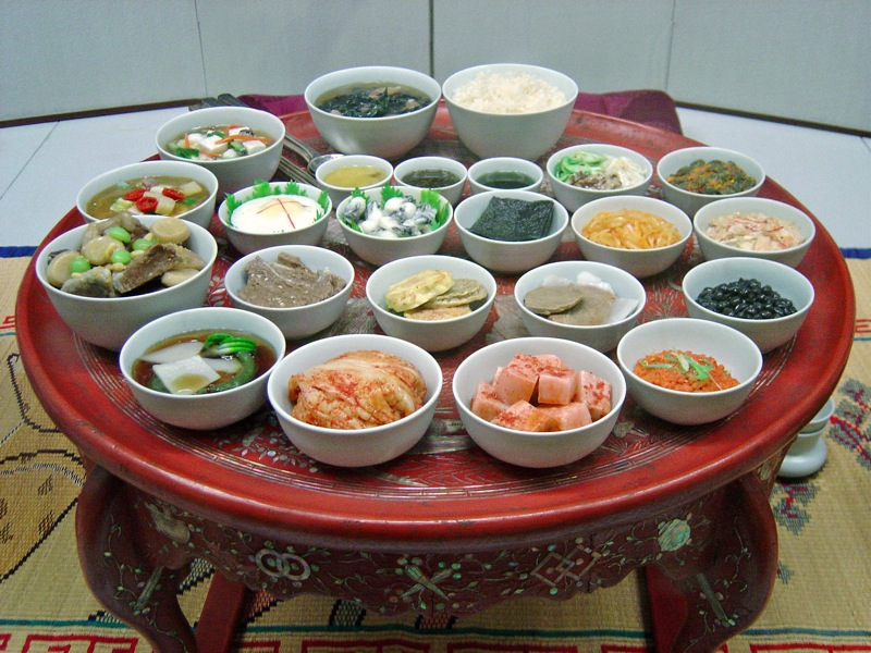 Korean cuisine simple english wikipedia the free for Authentic korean cuisine