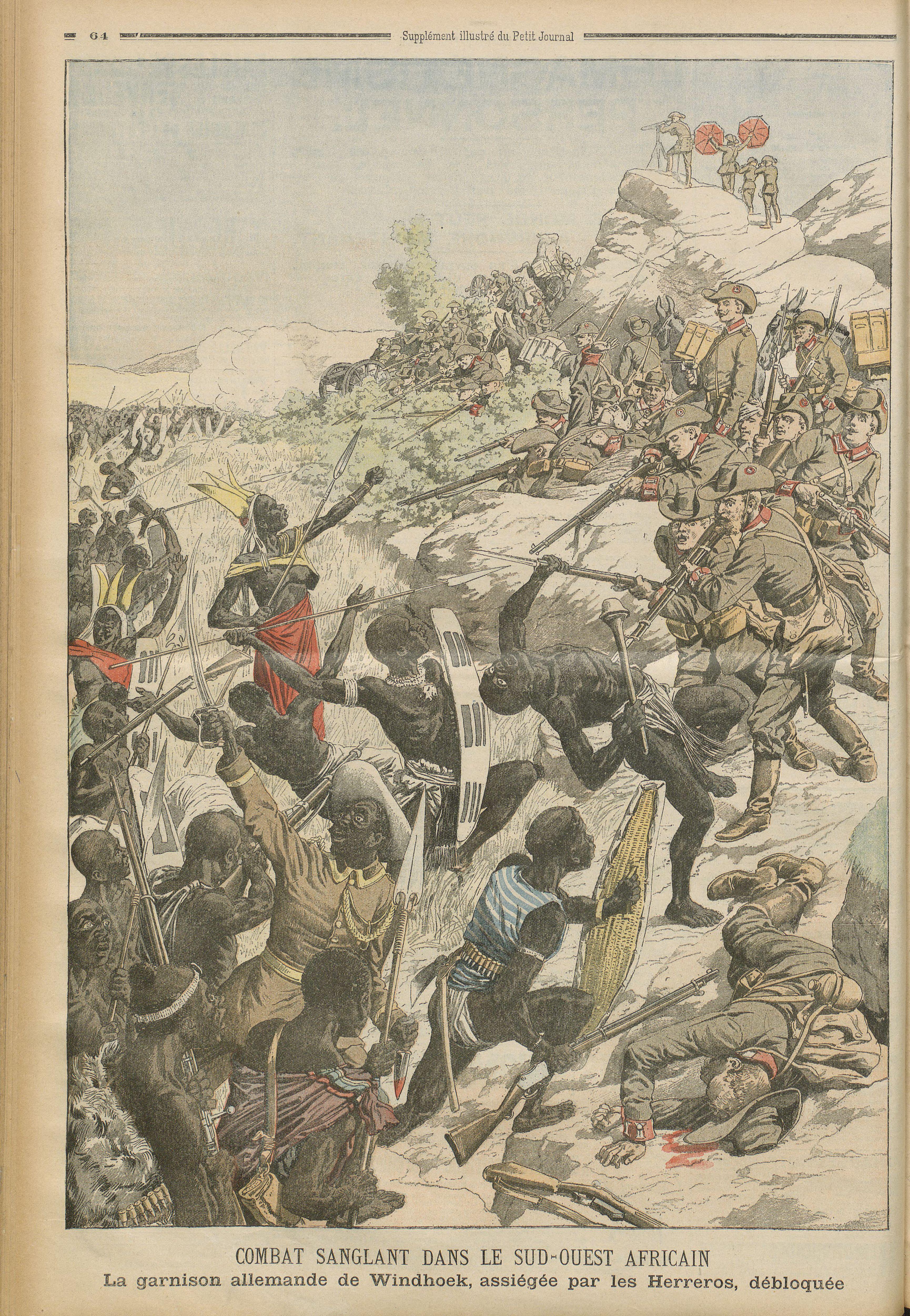 [Namibie] Un génocide des Hereros en 1904-1905 ?