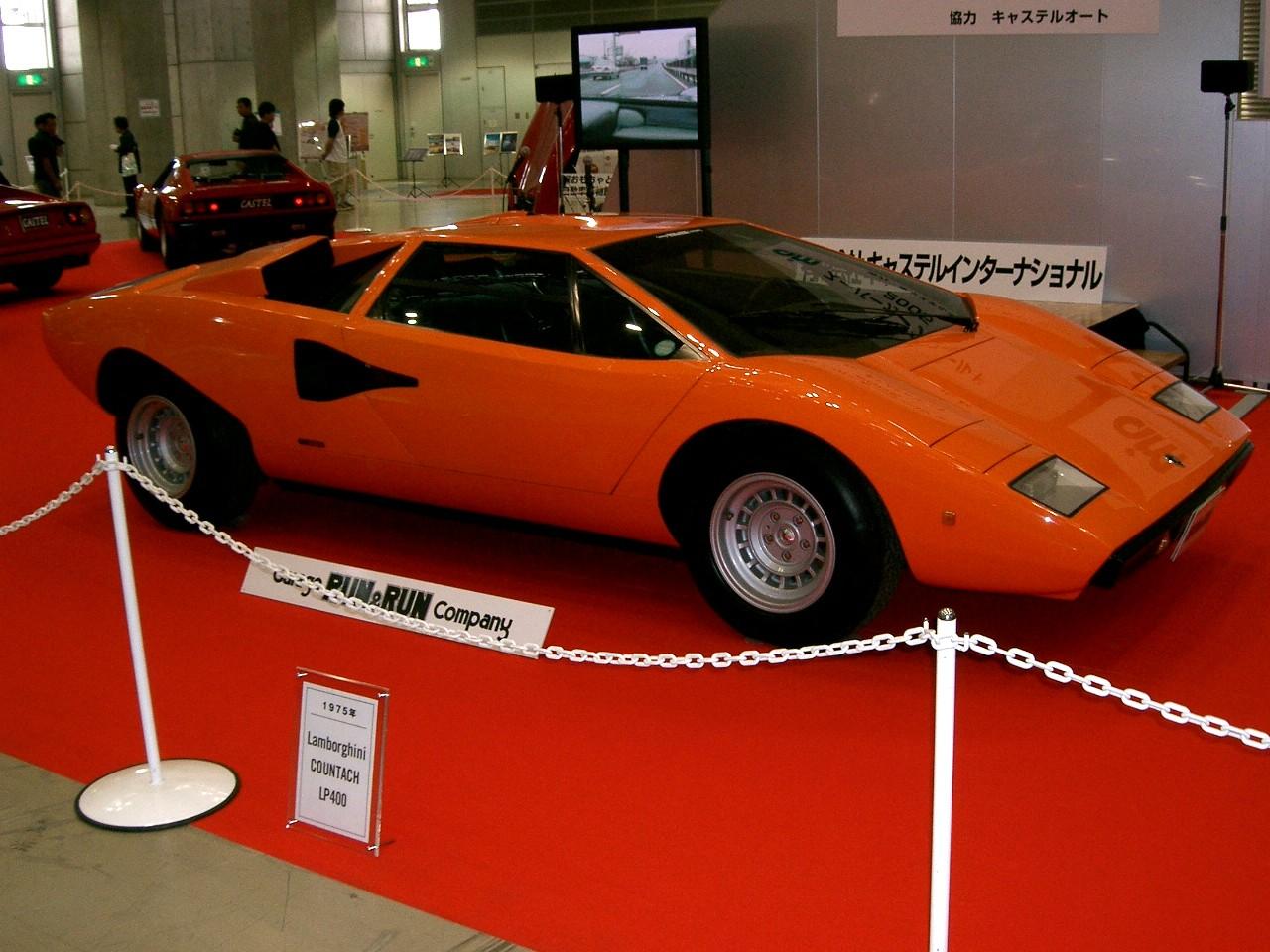 File Lamborghini Countach Front Side Jpg Wikimedia Commons